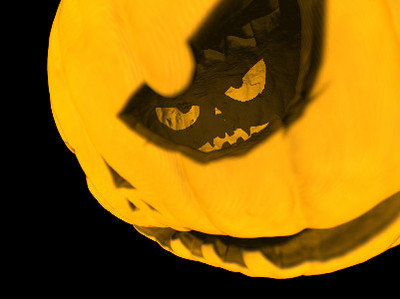 Pumpkin Halloween Jack's eye
